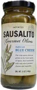 Blue Cheese Stuffed Queen Olive (5oz) (Case)