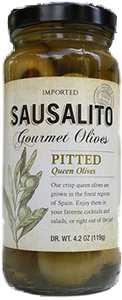 Pitted Queen (Martini) Olive (4.25oz) (Case)
